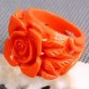 Ring Roze Roos van Koraal