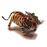 Leather Bag Accessory Tiger