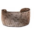 Lederen Armband Mireille naturel