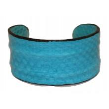 Lederen Armband Mireille turquoise