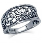 Zilveren Ring Carin