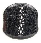 Lederen Armband Black Stingray
