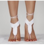 Barefoot Sandals Cindy White