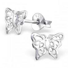Zilveren Oorstekers Vlinders