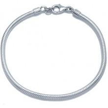 Zilveren Armband Snakechain voor o.a. Pandora, Trollbeads etc.