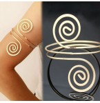 Bovenarm Armband Spiral