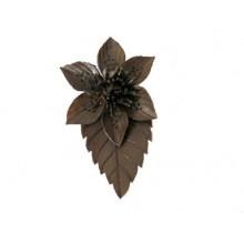 Lederen Broche Flower Power 6