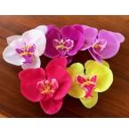Haarclip Orchidee