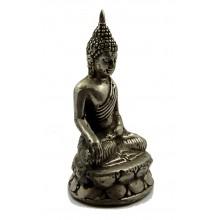Zittende Buddha Het aanroepen van aarde tot getuige