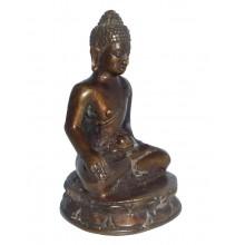 Zittende Buddha Verlichting Koper