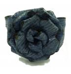 Lederen Armband Blue Rose