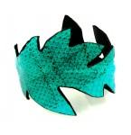Lederen Armband Turquoise Kim