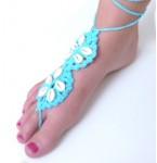 Barefoot Sandal Lola Turquoise