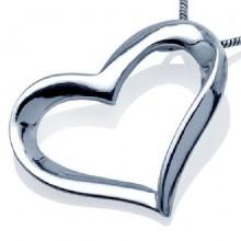 Zilveren Kettinghanger Liefde