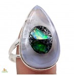 Zilveren Ring Nadine