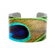 Cuff Bracelet Peacock