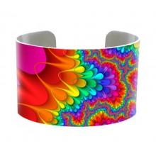 Cuff Bracelet Psychedelic