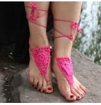 Barefoot Sandals Hot Pink