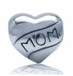 Zilveren Bedel Love MOM