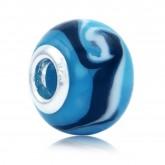 Murano Glasbedel Plava