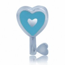 Zilveren Bedel The Blue Key To Love