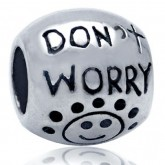 Zilveren Bedel Don't Worry, Be Happy