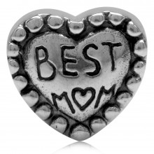 Zilveren Bedel Best Mom
