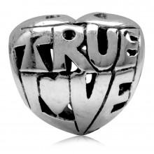 Zilveren Bedel True Love