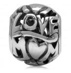 Zilveren Bedel LOVE MUM