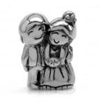 Zilveren Bedel Newly Weds