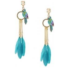 Oorbellen Blue Parrots