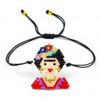 Armband Frida Kahlo in beads