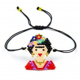 Armband Frida Kahlo in beads