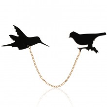 Broche Birds