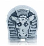 Zilveren Bedel Paardenhoofd & Hoefijzer