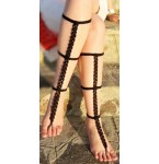 Barefoot Sandals Angelina Black