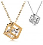 Ketting Diamond in Cube