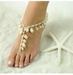 Barefoot Sandal Cowrie Schelp