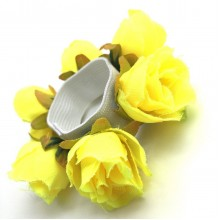 Haarelastiek Yellow Roses