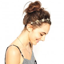 Haarband Pearlyflowers