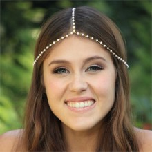 Haarketting Exclusive Pearls