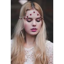 Haarketting Queen of Hearts