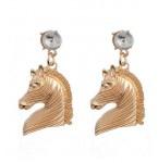 Oorbellen Golden Horses