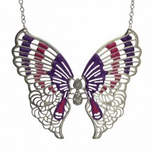 Ketting Violet Butterfly