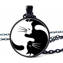 Ketting Yin & Yang Cats