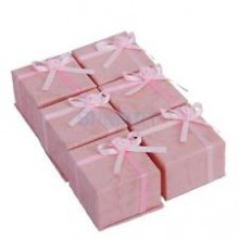 Kadoverpakking Ring Roze 6 stuks