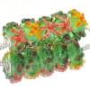 Murano Glasbedel Zeesterren Groen