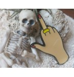 Broche Middlefinger