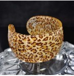 Armband Leopard Brown