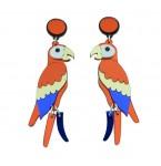 Oorbellen Parrot